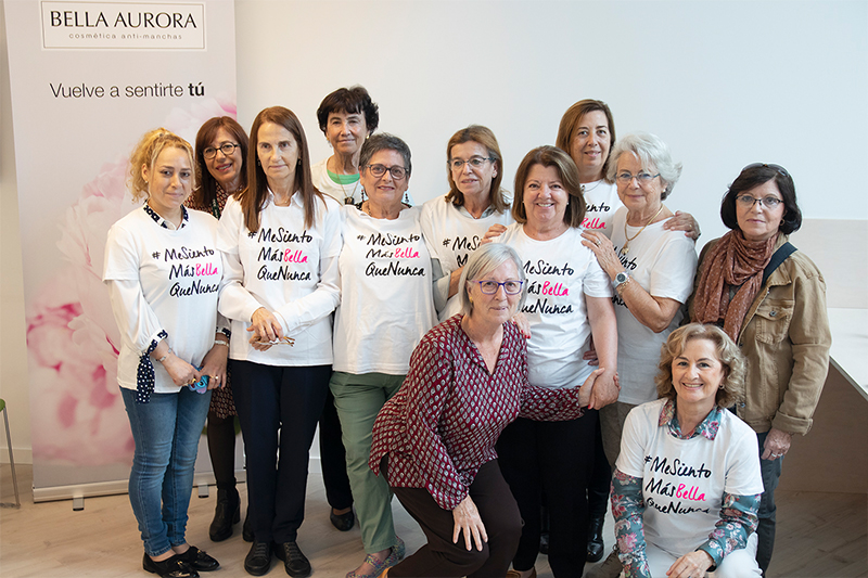 A day full of pampering for cancer volunteers